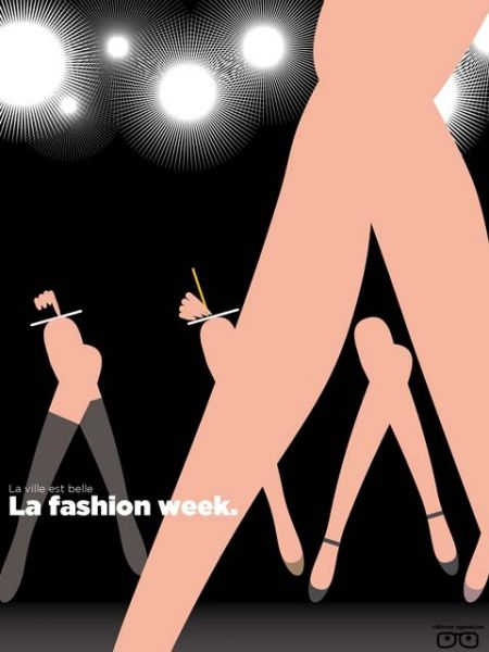La fashion week - la ville est belle : vahram muratyan
