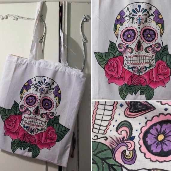 Dia de los Muertos - Shopping Bag - #DevilDolls