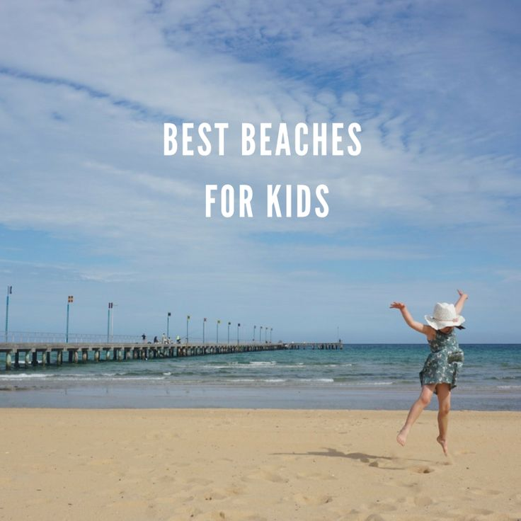best beaches for kids in melbourne