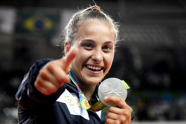 odette giuffrida-ARGENTO (Judo) Rio 2016