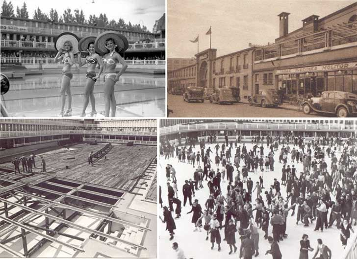 """Si alguna vez viste Life Of Pi (La Vida de Pi) te acordarás que el héroe de la película, un chico indio que vivía en la colonia francesa de India, se llamaba irónicamente """"Piscine Molitor Patel"""" por la piscina (piscine) histórica Art Deco de los años '20 aquí en París…"""