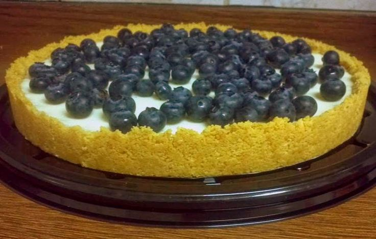 Blueberry Cheesecake | The Little Bakery in Santiago | www.bayessence.com