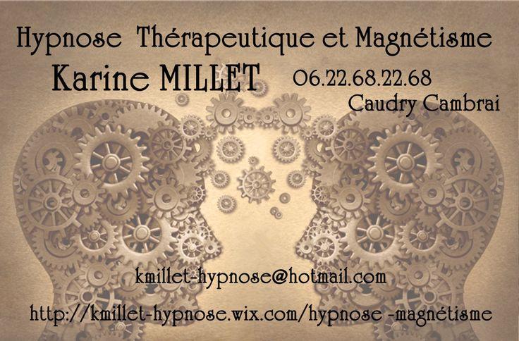 Conception de cartes de visite personnalisées par La Gorgone HYPNOSE MAGNETISME