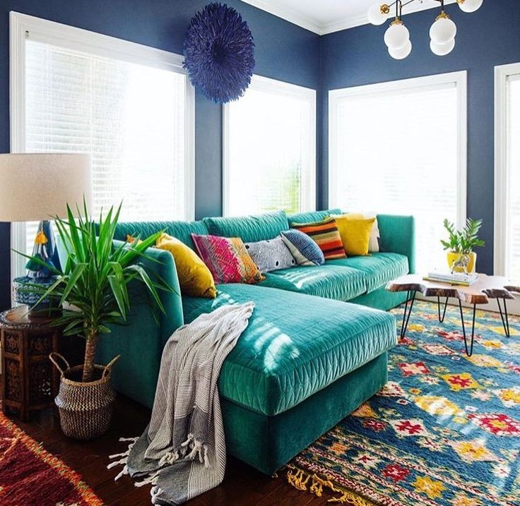Our love for the MOR sofa runs deep. #aquaholic #turquoise #jungalowstyle #comingspring2017