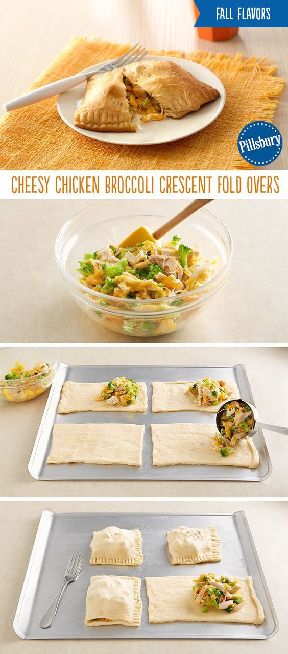 Comfort food at it's finest. Warm up on those cool fall and winter nights with this easy weekday dinner! Crescents loaded with warm chicken, broccoli and cheese is sure to be a mealtime favorite.
