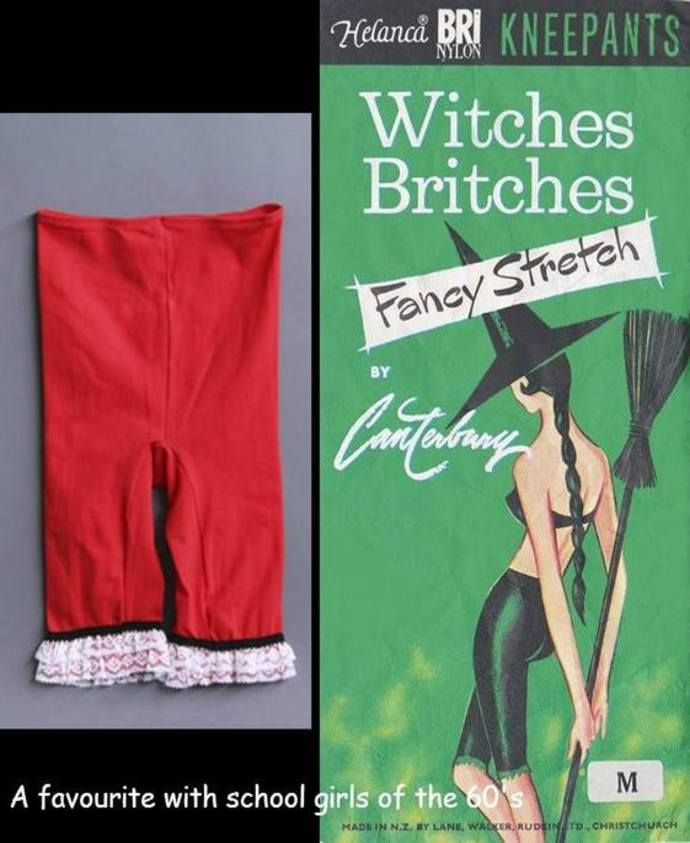 Witches Britches first made their appearance mid 1960s - Old Wellington Region 31 Jan 2015