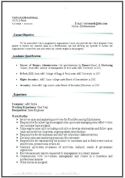 mba resume format for experienced mba resume sle Home Decor