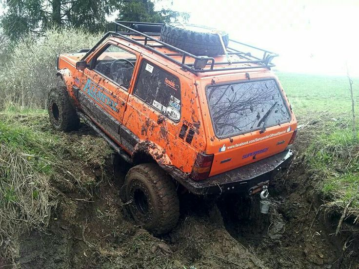 1152 best images about off road vehicles campers for Panda 4x4 extreme