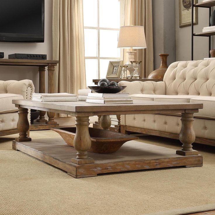 Edmaire Rustic Baluster 60-inch Coffee Table by iNSPIRE Q Artisan by  iNSPIRE Q - 25+ Best Ideas About Pine Coffee Table On Pinterest Rustic