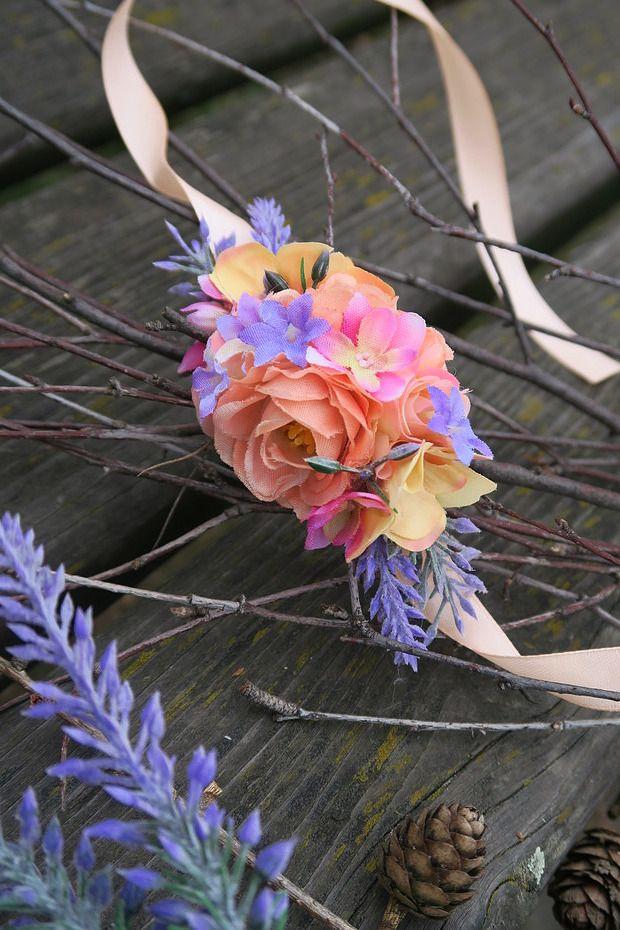 květinový  náramek