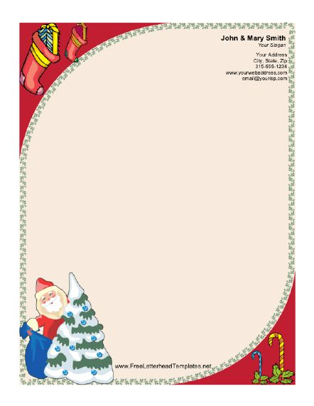 11 best Template Heaven images on Pinterest Letterhead, Free - microsoft word santa letter template