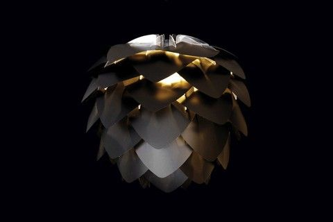 Belysning / Taklampor / Silvia Mini Black & Gold - Bergmans möbler