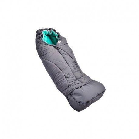 Śpiworek do wózka Lodger Explorer Zinc / Emerald