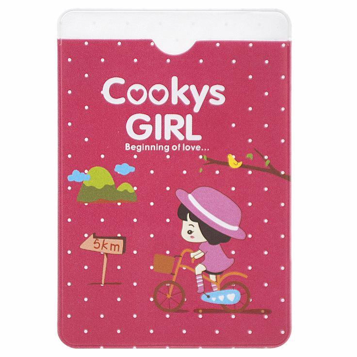 Держатель для карточек Cookys girl (желтый) - купить в интернет магазине в Москве