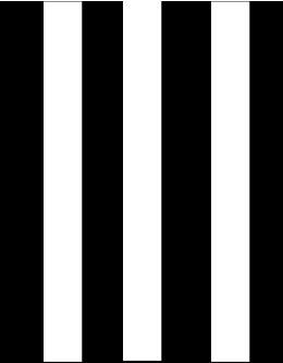 Rayas verticales blanco y negro rayas pinterest - Paredes a rayas verticales ...