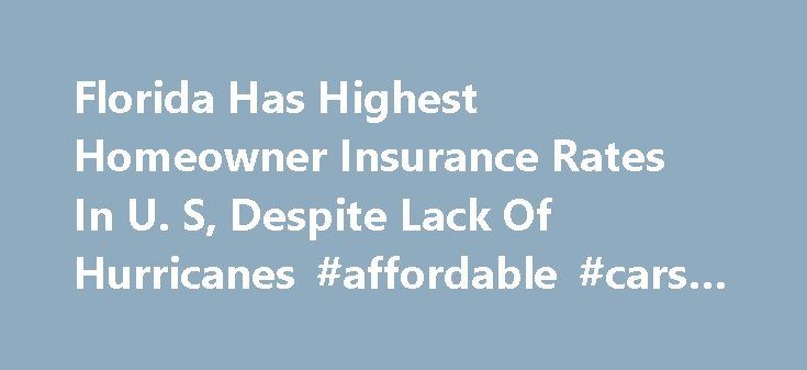 Florida Has Highest Homeowner Insurance Rates In U. S, Despite Lack Of Hurricanes #affordable #cars #insurance http://insurance.remmont.com/florida-has-highest-homeowner-insurance-rates-in-u-s-despite-lack-of-hurricanes-affordable-cars-insurance/  #home owners insurance rates # Florida Has Highest Homeowner Insurance Rates In U.S. Despite Lack Of Hurricanes DAVIE, FL – OCTOBER 24: Jennifer Farrington (L) sits on a couch in the middle of a pile of debris after Hurricane Wilma came through on…