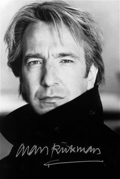 Alan Rickman - star of 'Die Hard', 'Robin Hood: Prince of Thieves', and of course the Harry Potter films.