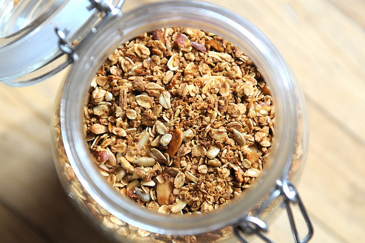 SEEDS party! Simply Gourmet…Where food, family and friends gather.: 119. Almond Granola with Sunflower Seeds