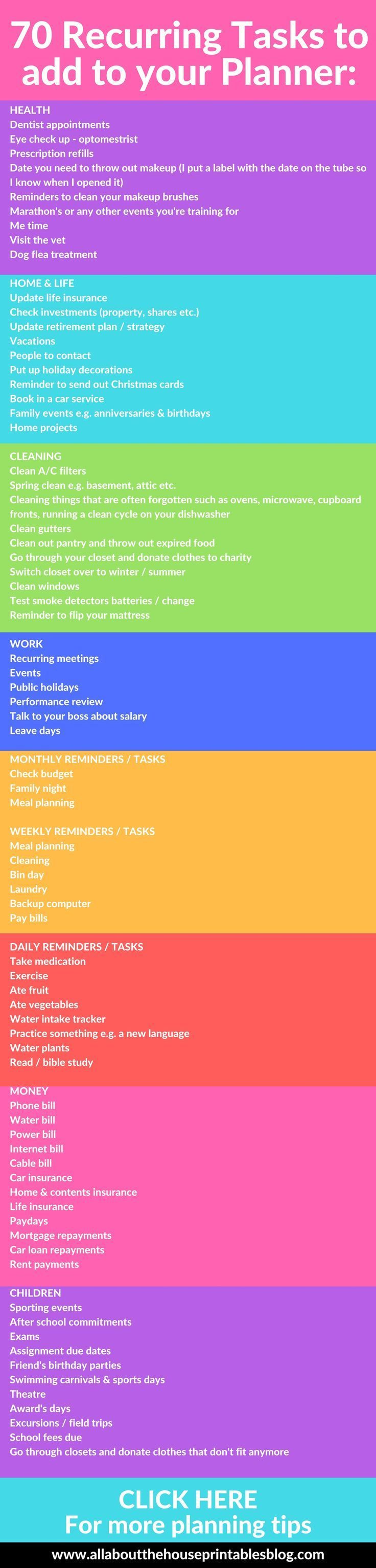 3344 best home planner images on pinterest planners calendar and