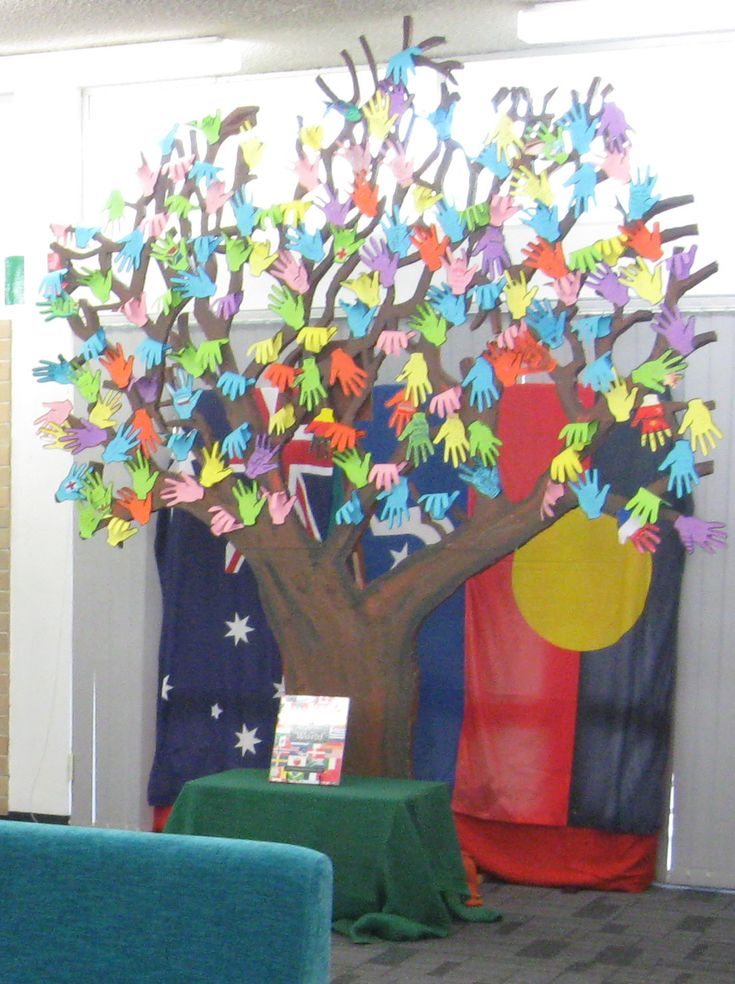 Our Harmony Day tree