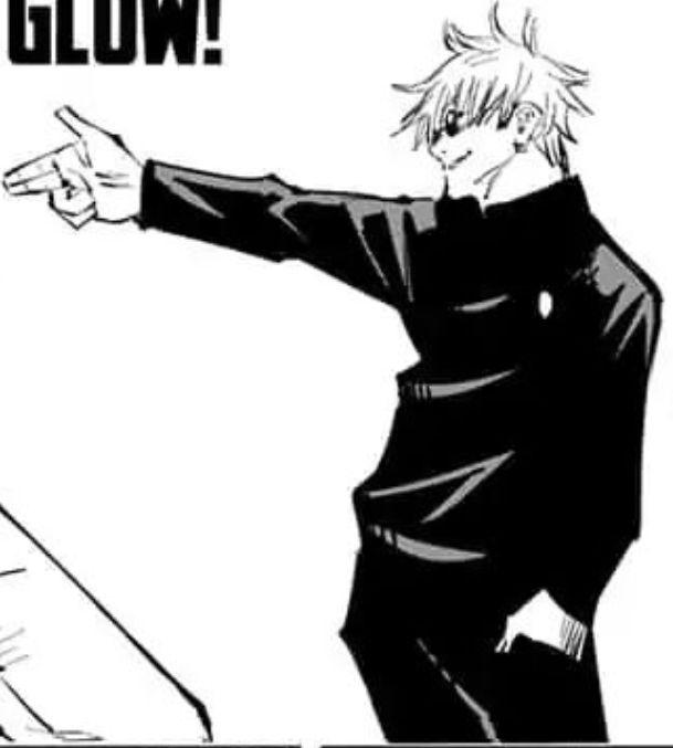 Gojo Satoru Manga Glasses Jujutsu Manga Manhwa Manga