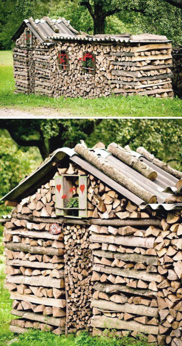 13 best empilement de buches images on Pinterest   Simple, Land art ...
