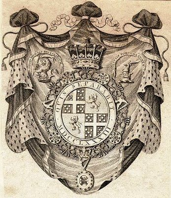 Ex Libris of Richard Colley Wesley, later Wellesley, KG PC (1760 – 1842), 2nd Earl of Mornington, later 1st Marquess Wellesley