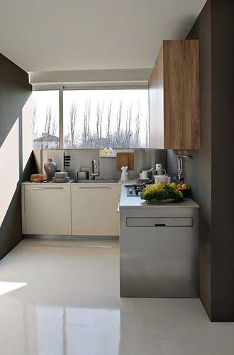 Best Elmar Slim Images On Pinterest Loft Contemporary And - Contemporary kitchen with modular work island el_01 by elmar