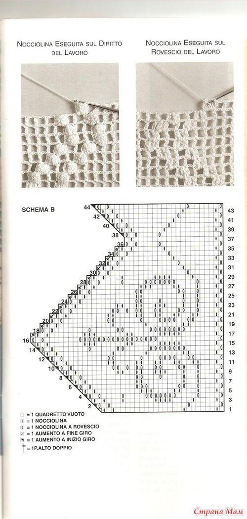 31 best CROCHET ( Fillet) images on Pinterest | Crochet patterns ...