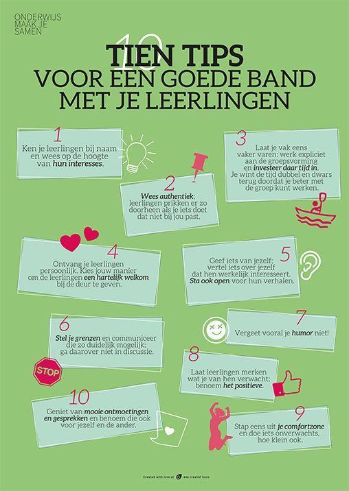 10 tips voor een goede band met je leerlingen tes band and tips - Hoe een stuk scheiden ...