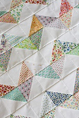 vintage patterns chevron quilt
