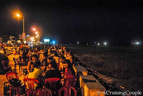 Dong Hoi Vietnam Seaside Dinning