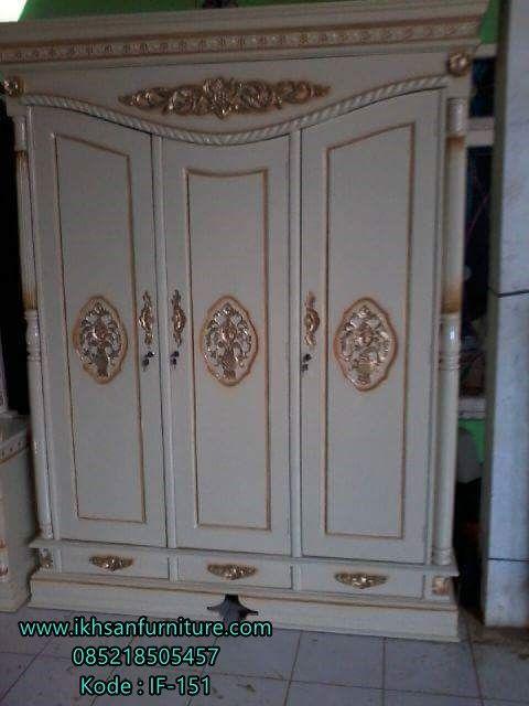 JualLemari Baju Pintu 3 Minimalis Modern ModelLemari Baju Pintu 3…