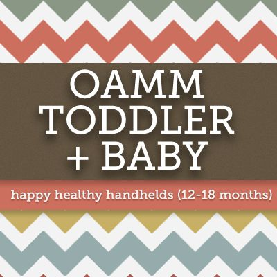 Happy Healthy Handhelds | 12-18 months | Once a Month Meals | OAMC | Freezer Cooking | Freezer Meals | Baby Food | Toddler Food