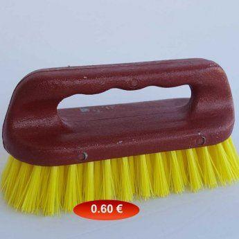 Βουρτσάκι με λαβή πλαστικό 15 εκ. Κ.200902