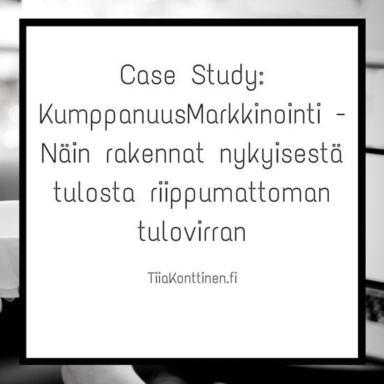 Case Study: KumppanuusMarkkinointi