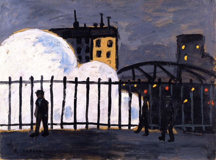 Auguste Chabaud:  Gare du Nord (1907)