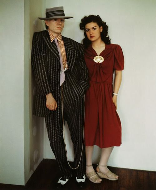Andy Warhol & Paloma Picasso