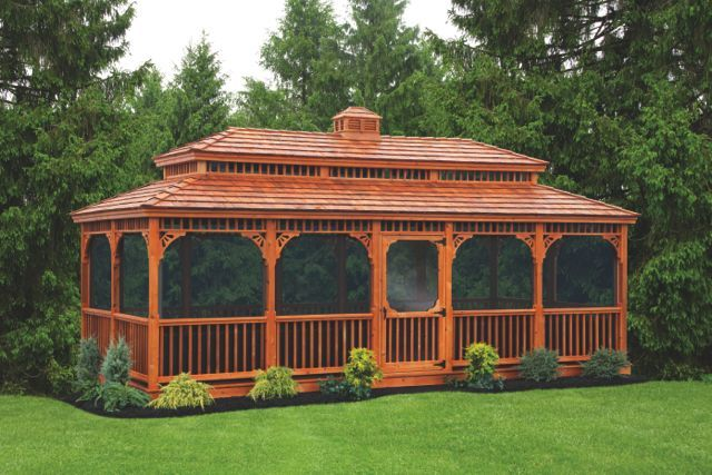 Backyard Gazebos, Park Gazebos, Large Gazebos, Garden Gazebos, Large Park Gazebos | Amish Designers