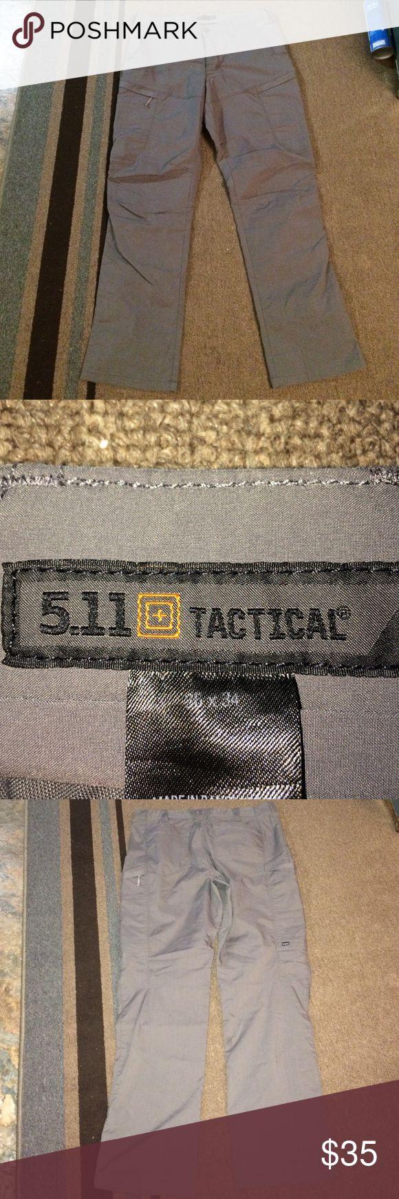 Men's tactical grey cargo pants Men's tactical pants 36 x 34 size 511 tactical Pants
