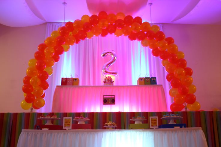 17 best images about yo gabba gabba party on pinterest balloon arch arches and dessert tables - Yo gabba gabba bedroom decor ...