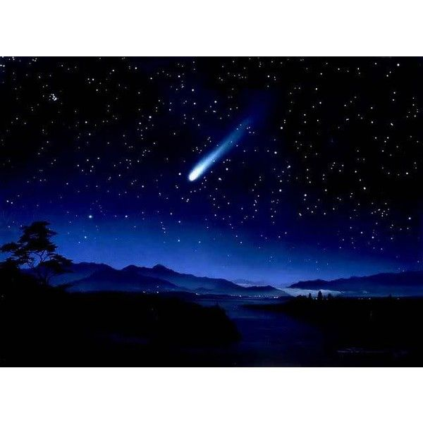 Meteor Lights Up Night Sky in Gauteng, South Africa! Talk About Close... ❤ liked on Polyvore
