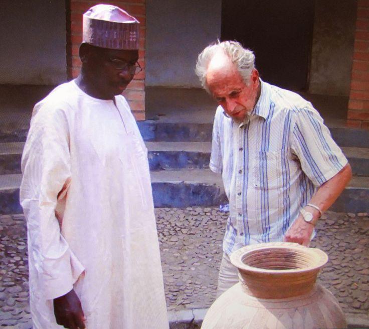 Danlami Aliyu and Michael OBrien in Abuja Suleja