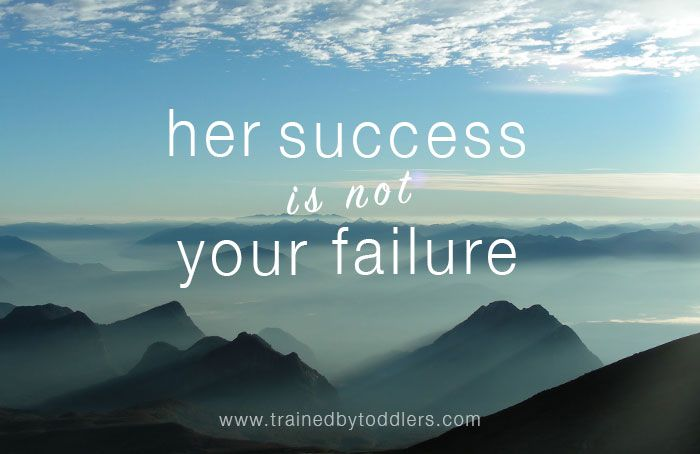 """Her Success is Not Your Failure- I woke up the other morning, began my daily email/dashboard/news/Facebook routine, and there it was.  Another one of my friends had started a blog.  I wish I could say my knee-jerk reaction was, """"Oh how great! I can't wait to read all of the wise things she has to say!""""   Instead it was more like a toddler-sized tantrum complete with, """"Why can't I just have one thing to myself?"""" and """"SHE'S COPYING MEEEEEEE!""""   Read more..."""
