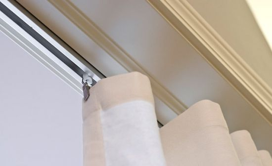 Curtain-Tracks.com is a one-stop online source for a full range of options for curtain tracks and drapery hardware.  Curtain-Tracks.com sells both wall-mount and ceiling-mount track and hardware. Options are available in aluminum, plastic and even flexible plastic track (for undulating curves and smooth corners).