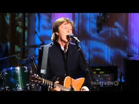 Paul McCartney - MICHELLE - HDTV-FullHD  Live at the White House in  2012.