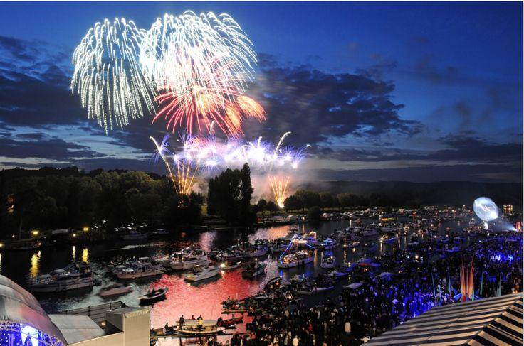 Fireworks at Henley festival