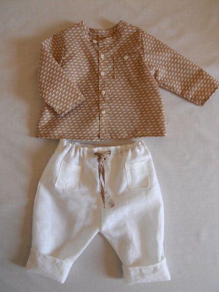 Taufbekleidung - BEN Komplett,Taufe Junge Taufanzug - ein Designerstück von giobambini bei DaWanda