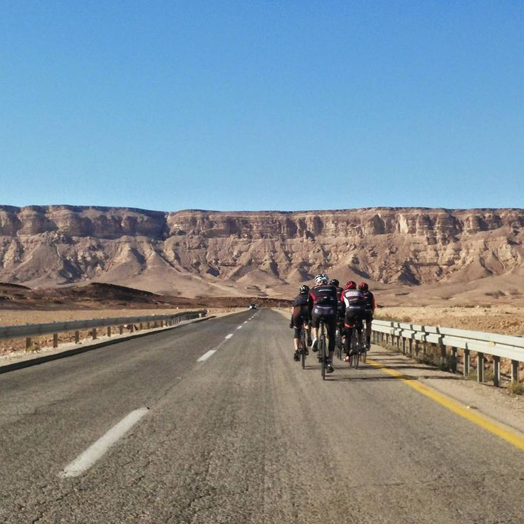 Captured from one of our Cycling Tours - a climb up the Ramon Crater cliff