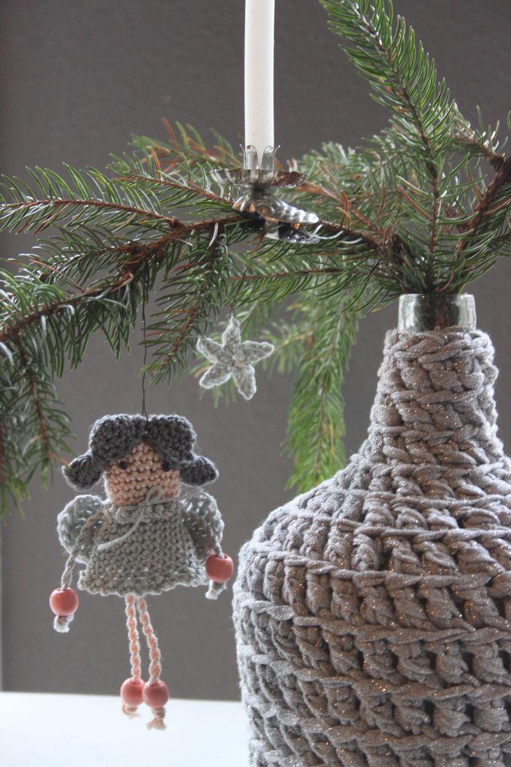 Lief engeltje om te haken uit Inhaken op de feestdagen